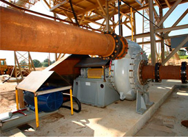 Pumps and Parts for Sand and Gravel Dredging | Walding Pumps